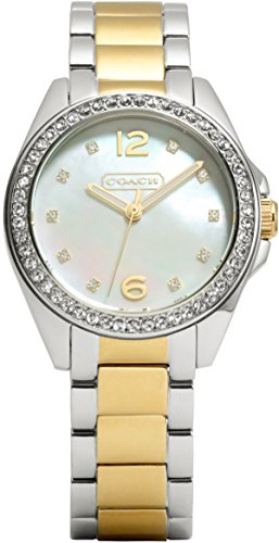 Coach 14501659 Ladies Tristen Two Tone Watch