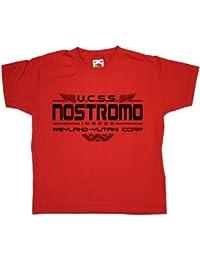Refugeek Tees - Niños Inspired By Alien - Nostromo Camiseta