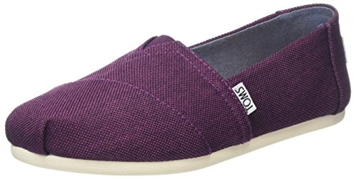 TOMS Women Alpargata Espadrilles, Black (Black Cherry Poly Canvas), 7.5 UK 41...