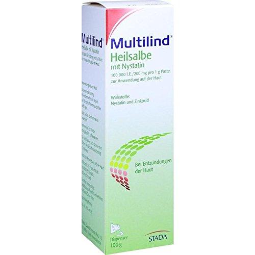 Multilind Heilsalbe mit Nystatin, 100 g Paste