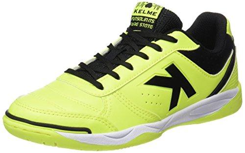Kelme K-strong 17 Indoor, chaussures de football mixte adulte Vert (citron vert)