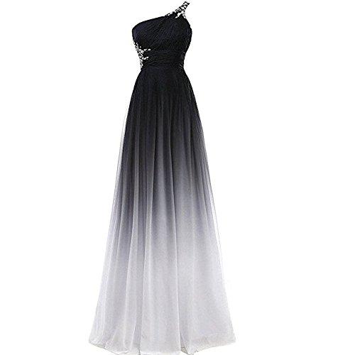 Gorgeous Bride Abendkleider Elegant Lang 2017 Damen Chiffon A-Linie Ballkleider Festkleider...