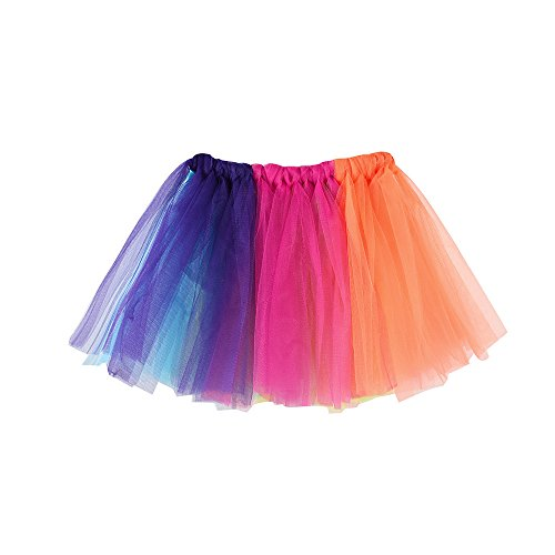 Fancy Dress 60er Kostüm 50er - YWLINK MäDchen Kinder Baby Tanzen Fluffy Tutu Rock Pettiskirt Ballett Fancy KostüM Karneval Party Rock TüLlrock