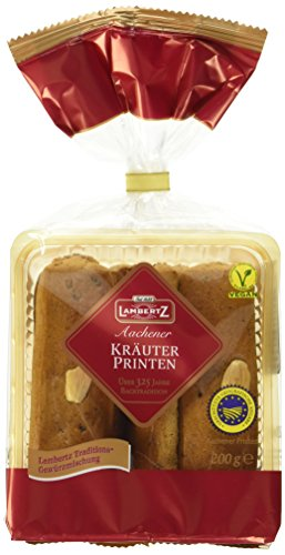 Lambertz Kräuter-Printen, 12er Pack (12 x 200 g)