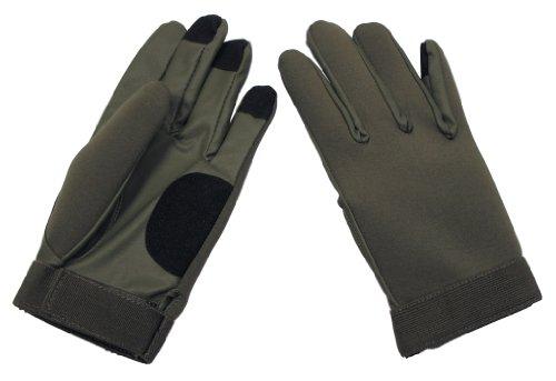 MFH Handschuhe Neopren Fingerhandschuhe, oliv, S