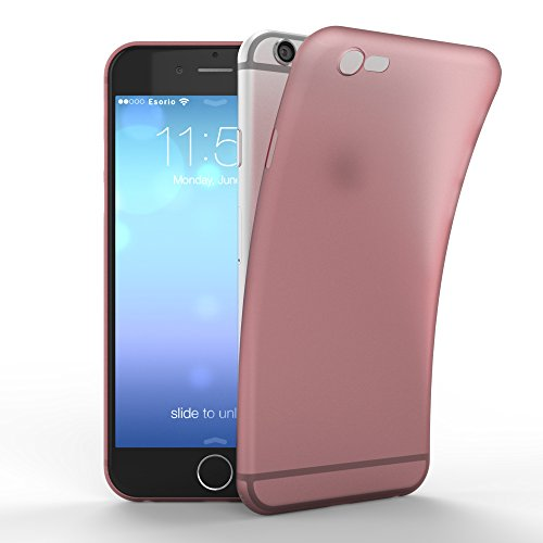 esorio - Funda ultrafina para Apple Iphone 6 6S, color blanc.
