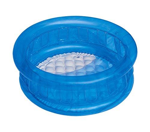 51112 Piscine gonflable pour enfants Bestway 3 couleurs 64x25 cm plancher gonflable (Bleu)