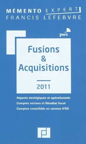 Fusions & Acquisitions