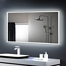 miroir salle bain avec clairage int gr. Black Bedroom Furniture Sets. Home Design Ideas