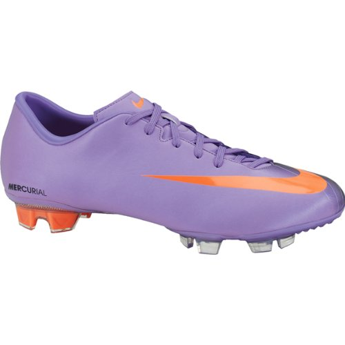 Nike Mercurial Miracle FG Herren Fußballschuhe, violet pop/orange-dark obsdn, Gr.45.5 (US11.5)(UK10.5)