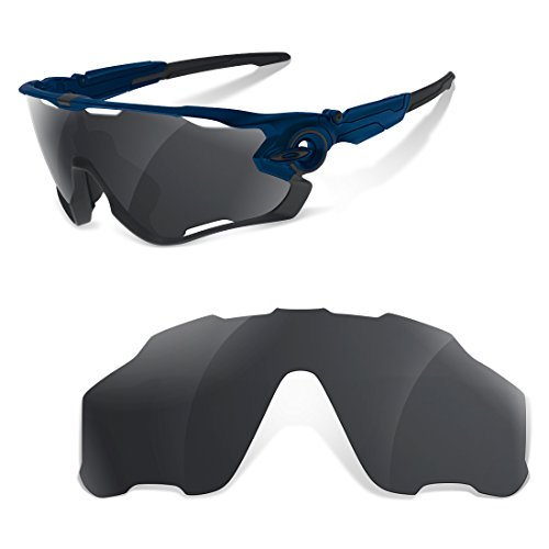 Lentes SR Polarizadas Black Iridium para Oakley Jawbreaker
