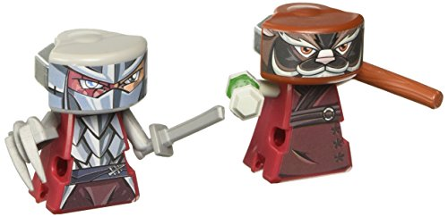 VS Rip-Spin Warriors Teenage Mutant Ninja Turtles Splinter and Shredder Figure 2-pack