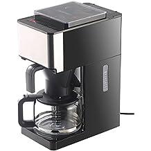Rosenstein & Söhne Kaffeeautomat: Vollautomatische Filter-Kaffeemaschine, Kegelmahlwerk, Touch-Bedienung (Kaffeevollautomat)