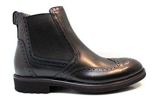 Nero Giardini A604414U Nero Polacchine Scarpe Uomo Stile Inglese Fashion Nero
