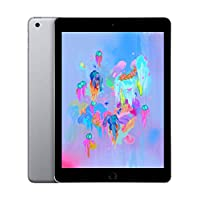 Apple iPad 2018 with Facetime - 9.7 Inch Retina Display, 128GB, WiFi, Space Grey