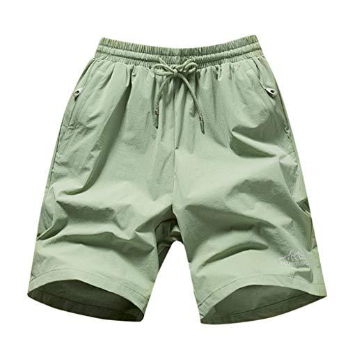 Strandshorts Herren Sommer Beachshorts Boardshorts Badehose Print Trunks Trocknen schnell am Strand Laufen Kurze Hose Zolimx -