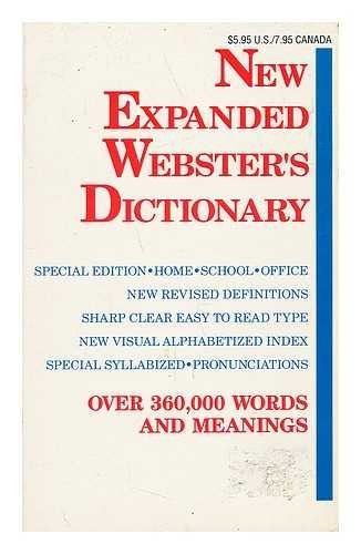 Title: New Expanded Websters Dictionary