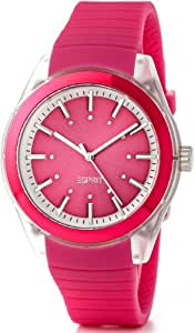 Esprit Damen-Armbanduhr pink play Analog Quarz A.ES900642007