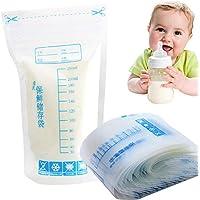 30 bolsas de almacenamiento de leche materna, 250 ml, cierre de cremallera desechable, seguro para bebés, leche materna, bolsas de almacenamiento de pie