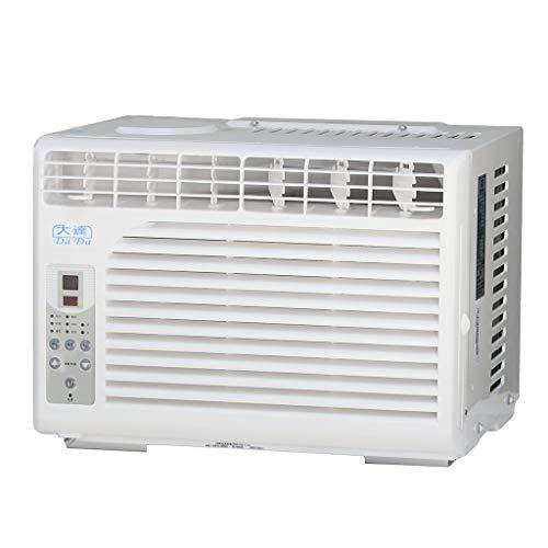Fensterklimaanlage mit Fernbedienung, 5.000 BTU-Fensterklimaanlage mit Entfeuchtung und Zeitsteuerung, 3-stufiger Klimaanlagenlüfter