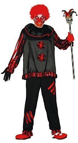 iller Evil Dead Clown Halloween Kostüm Kleid Outfit Größe L ()