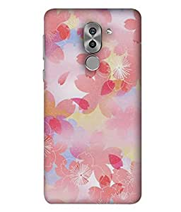 PrintVisa Designer Back Case Cover for Huawei Honor 6X (Painted animated design flowers nature)