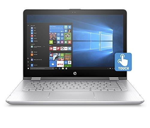 "Foto HP Pavilion x360 14-ba105nl Notebook Convertibile, Processore i5-8250U, 8 GB di RAM DDR4, SSD da 256 GB, Display da 14"" FHD IPS, nVidia GeForce 940MX, Argento Minerale [Layout Italiano]"