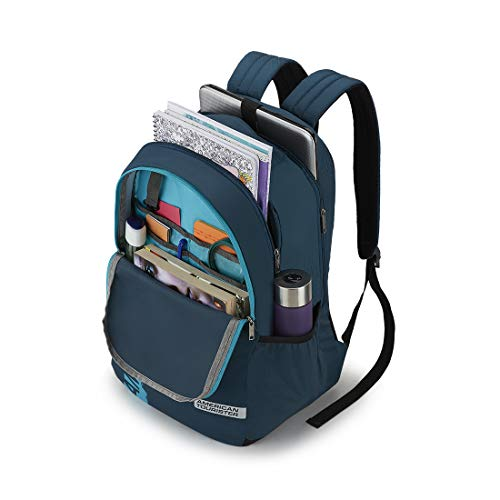 American Tourister Spin 29 Ltrs Teal Laptop Backpack (FS0 (0) 11 001) Image 5