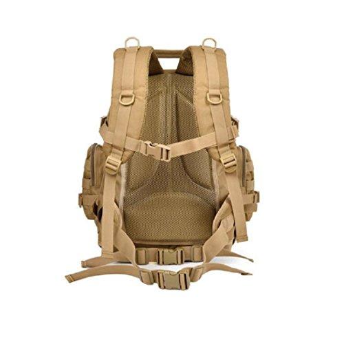 LF&F Backpack Camping outdoor Zaini Borse Zaino tattico a camuffamento esterno materiale Oxford impermeabile cinghia regolabile trekking di capacità di 30 litri zaino da montagna D 30L A