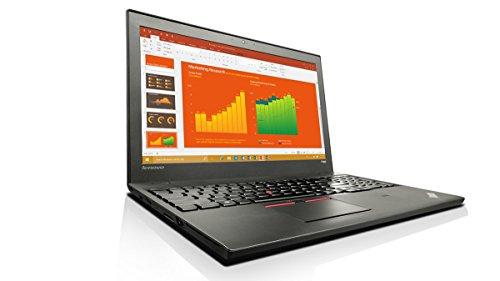 "Lenovo ThinkPad T560 2.6GHz i7-6600U 15.5"" 2880 x 1620pixels Nero - notebooks (i7-6600U, ThinkPad UltraNav, Windows 7 Professional, Lithium Polymer (LiPo), 3+3, 64-bit)"