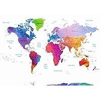 Stylish Living World map poster