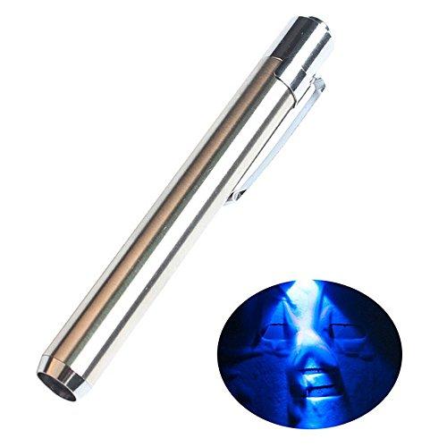AOLVO 365nm - Bolígrafo Detector luz Blanca Agente
