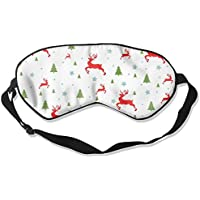 Comfortable Sleep Eyes Masks Christmas Printed Sleeping Mask For Travelling, Night Noon Nap, Mediation Or Yoga preisvergleich bei billige-tabletten.eu