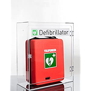 Plexiglas-Wandkasten für Defibrillator