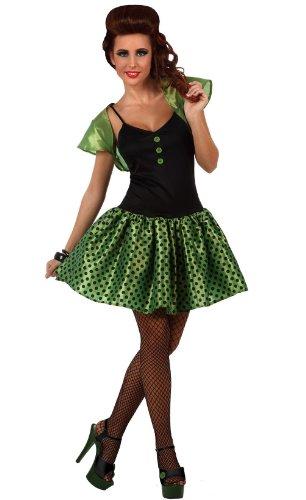 Grünes 60er-Jahre-Kostüm für Damen (Besten 60er-jahre-kostüme Am)