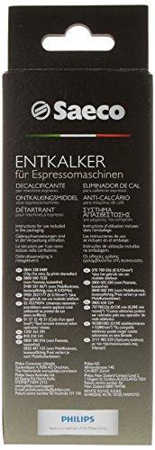 Saeco CA6700/00 - Descalcificador para máquinas de café espresso manuales y automáticas