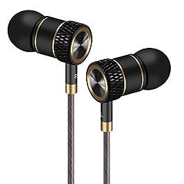 Auricolari,Cuffie ad alta Definizione, isolamento acustico, ottimi bassi progettati per iPhone, iPod, iPad, lettori MP3…