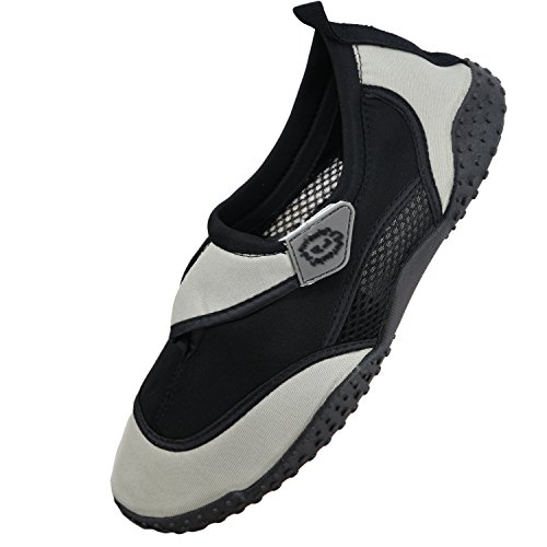 Nalu, Scarpe da immersione uomo Grey with Black Trim