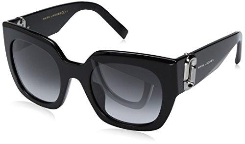 Marc Jacobs Damen Marc 110/S 9O 807 51 Sonnenbrille, Black/Dark Grey Sf -
