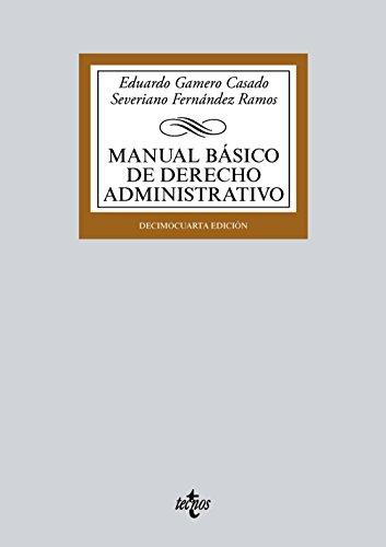 MANUAL BASICO DE DERECHO ADMINISTRATIVO (14ª ED )