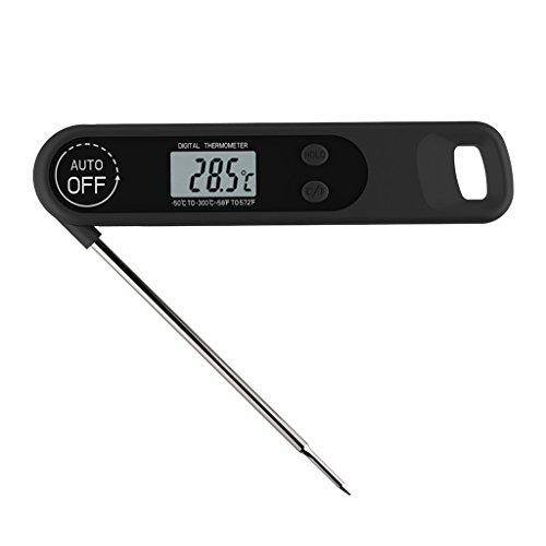 MagiDeal Digital Grill-Thermometer LCD Fleisch-Thermometer mit Sonde, Temperaturbereich von -50 ° C bis 300 ° C