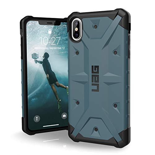 URBAN ARMOR GEAR UAG iPhone XS Max [6.5 Screen] Pathfinder Feather-Light Rugged [Slate] Military Drop Tested iPhone Case