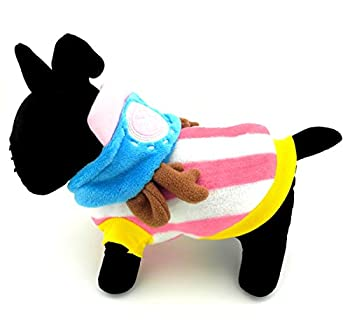 Smalllee _ Lucky _ Ranger Petmall Chien Chat chaud Flanelle Chopper Capuche pour homme Halloween