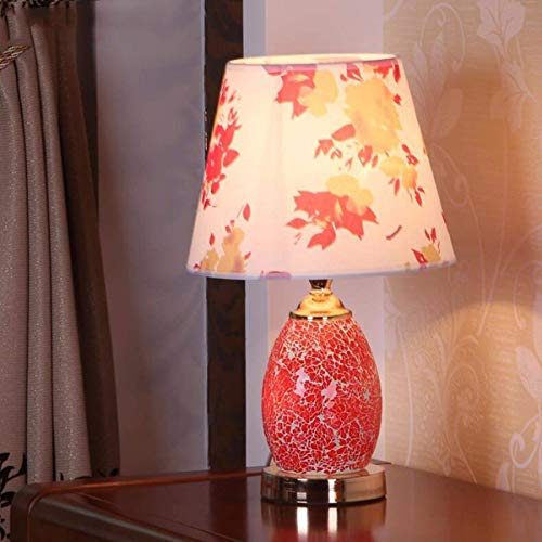 DEED Table Lamp-Simple and Stylish Table Lamp Creative Idyllic Bedroom Bedside Table Lamps Mosaic Lamps Working Children Reading Decorative Lights