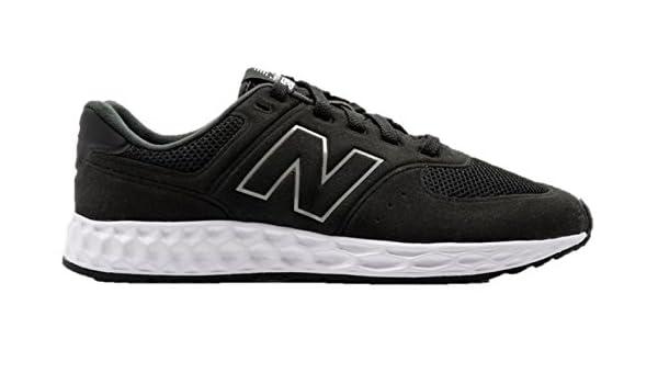 New Balance Kfl574bg Black Sneaker Stringata Nero