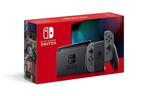Nintendo Switch - Consola color Gris (Modelo 2019)