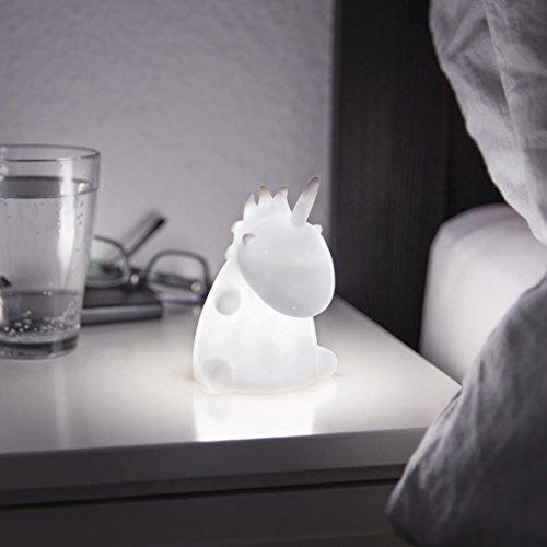 Einhorn Leuchte - Weiß