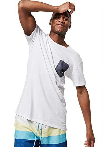 O'Neill Herren LM Shape Pocket T-Shirt, Weiß (Super White), XS (Pocket T-shirts Für Männer)