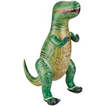 Aufblasbarer Dinosaurier 76cm T-REX Mitgebsel Spielzeug Deko Fasching Dino