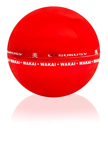 Wakai - Anti-Aging/Bleaching Creme - Anti-Falten Gesichtscreme reduziert Falten u. Fältchen, bleicht Hautflecken, Altersflecken, Pigmentflecken u. hellt sie auf - für trockene Haut und Mischhaut -